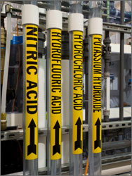 Facility Pipe Marking