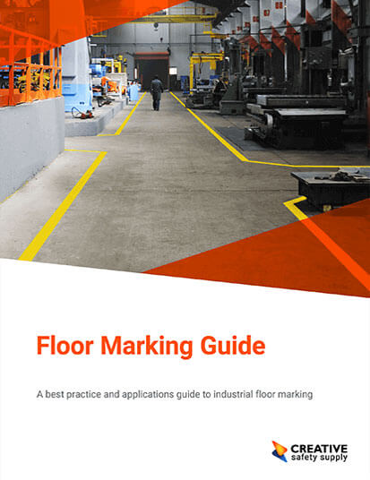 Free Floor Marking Guide includes PDF on OSHA and ANSI