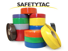 SafetyTac floor marking tapes