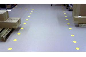 How to lay out 5S Floor Tape Dots